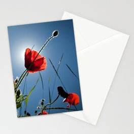 The Poppies Stationery Cards