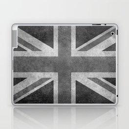 British Union Jack flag 1:2 scale retro grunge Laptop & iPad Skin