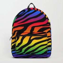 Zazzy Zebras - Rainbow Backpack