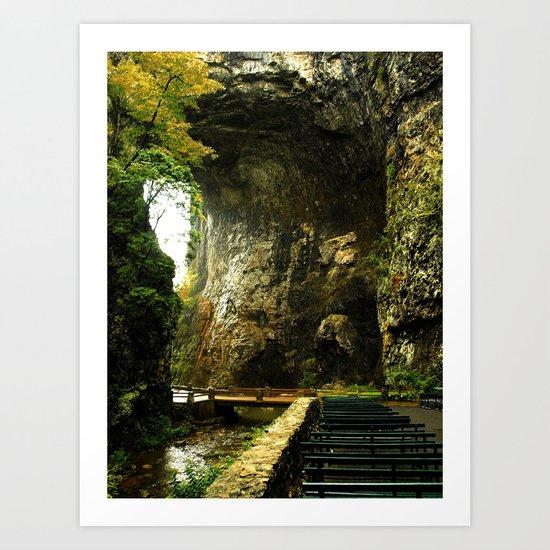 Natural Bridge 3 Art Print