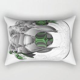 Symbiotic Masking Rectangular Pillow