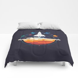 Space Shuttle & Solar System Comforters