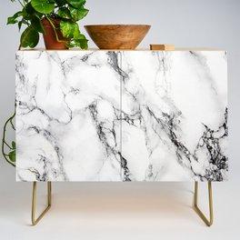 White Marble Texture Credenza
