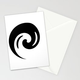 Yin Yang Exagerated Stationery Cards