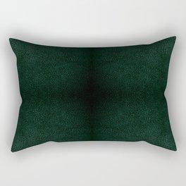 Dark green leather sheet texture abstract Rectangular Pillow