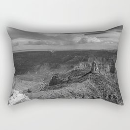 North_Rim Grand_Canyon, AZ - B&W II Rectangular Pillow