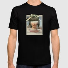 Tears In The Typing Pool | Collage Mens Fitted Tee Black LARGE
