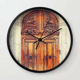 Trapani art 23 Sicily Wall Clock