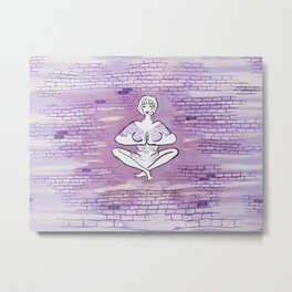 Yoga Pose 005 Metal Print