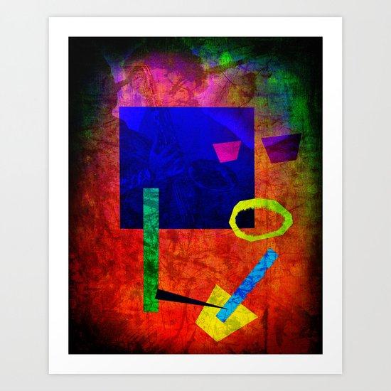 Jazz Bot Art Print