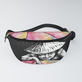 The Lottery Ticket Seller Fanny Pack