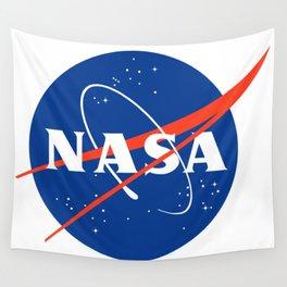 NASA logo Space Agency Astronaut Wall Tapestry