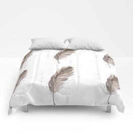 Found feather Comforters