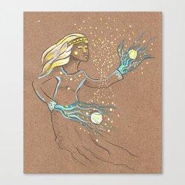 Star Girl Canvas Print