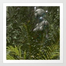 DISCONNECTED 2 - ∀ Art Print