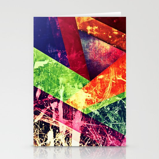 Through colour Stationery Cards