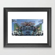 SUNCITY REMIX2 ~ SMS    Framed Art Print