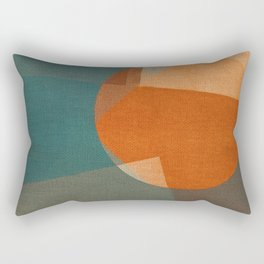 Rusty Sun Rectangular Pillow