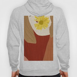 Girl and her flower Hoody