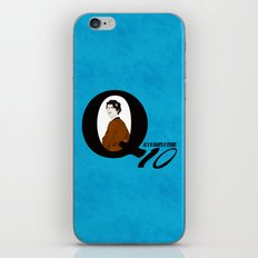 Q: Age Is No Guarantee of Efficiency iPhone & iPod Skin