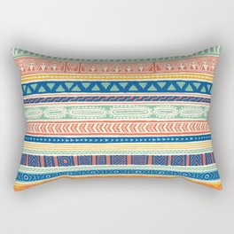World Mix Rectangular Pillow