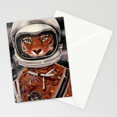 Tiger Astronaut Stationery Cards