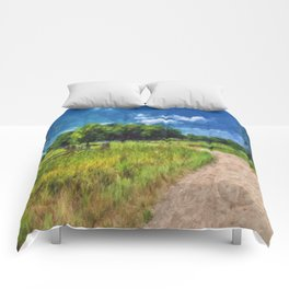Country Fences 5 Comforters