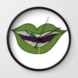 Lips Series Wall Clock