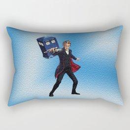 Dr Who & Tardis Rectangular Pillow