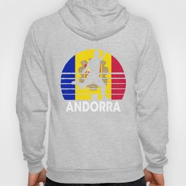 Andorra Soccer Football AND Hoody