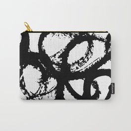 Dance Black and White Carry-All Pouch