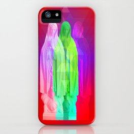 Glitch Goddess iPhone Case