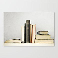 Vintage Books No.2 Canvas Print