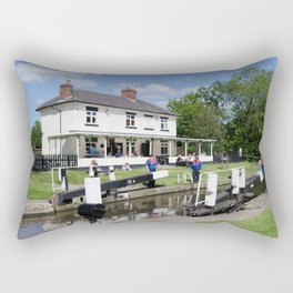 Stenson lock waiting Rectangular Pillow