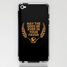 may the odds be ever in your favor iPhone & iPod Skin
