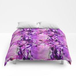 LILAC PURPLE AMETHYST FEBRUARY GEM BIRTHSTONE Comforters