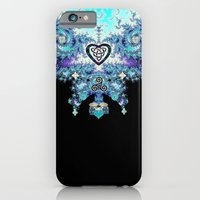 Celtic Fractal Celtic Heart Tapestry iPhone 6s Slim Case