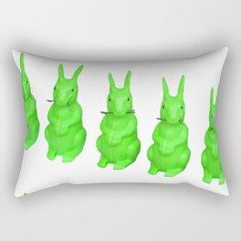 Gween Wabbit Rectangular Pillow