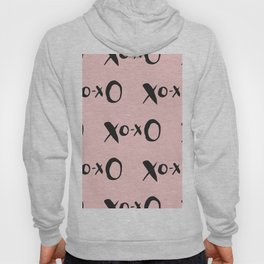 Kisses XOXO Millennial Pink Hoody