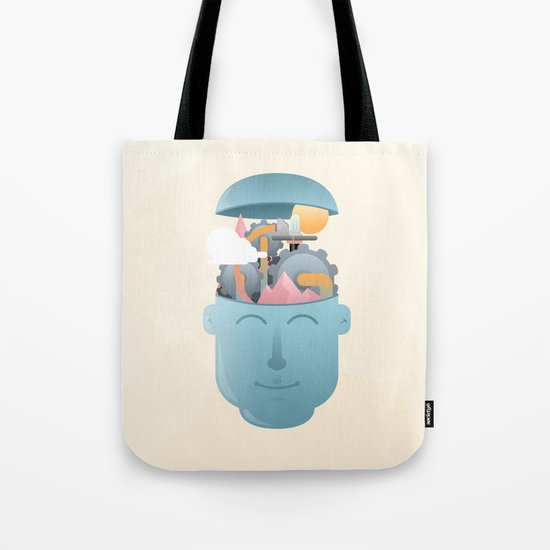 Turning Cogs Tote Bag