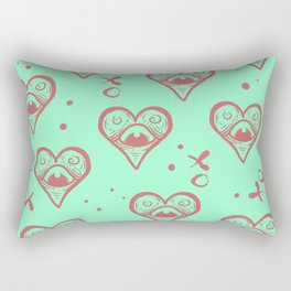 Sacred Eyes Rectangular Pillow