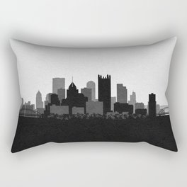 City Skylines: Pittsburgh Rectangular Pillow