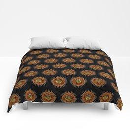 Psychedelic Sun Comforters