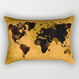 map world map 59 Rectangular Pillow