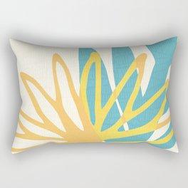 Happy Summer Abstract Rectangular Pillow