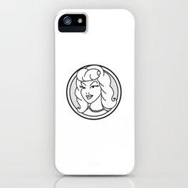 Haute Wanda Badge iPhone Case