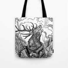 Low roar Tote Bag