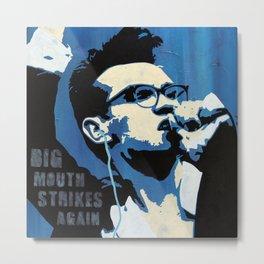 The Smiths - Big Mouth Strikes Again Metal Print