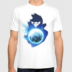 Metroid Prime 3: Corruption LARGE White Mens Fitted Tee