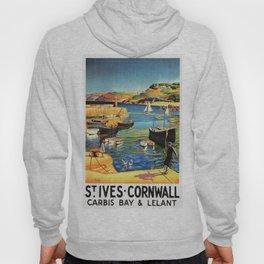 Vintage St. Ives Cornwall England Travel Hoody